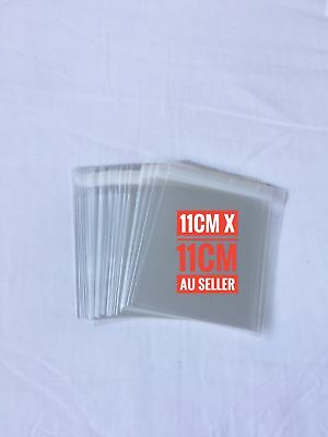 11 x 11cm Self Adhesive Seal Clear CELLO Bags - 90 pieces