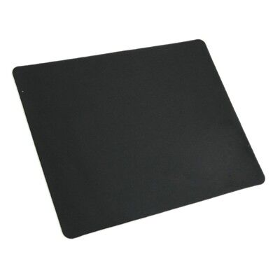 Black Slim Square Mouse Pad Mat Mousepad For PC Optical Laser Mouse Trackba M7U9