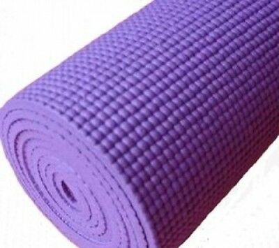 PURPLE THICK FOAM YOGA PILATES GYM MAT 6mm x 1. BodyRip. Shipping is Free