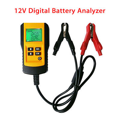 AE300 12V Car Vehicle Battery Tester Voltage Automotive Analyzer Business Yellow