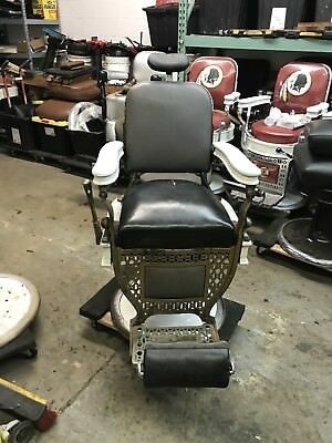 Antique Theo A. Koch Barber Chair