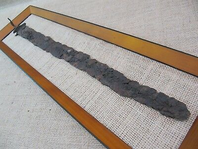 "Ancient Celtic Sword La Tene Culture IV - III Century B.C. 20"" (COA)"