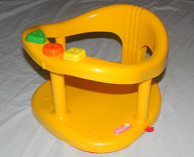 KETER Yellow Baby Bath Tub Ring - Free Shipping from USA!