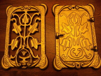 Art Deco Craftsman & Tudor Style Peabody & Acker Inc. Door Viewer & Door Knocker
