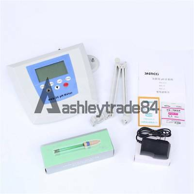 PHS-3C Digital Lab Instrument pH Meter Tester 0.00~14.00pH 0~±1400mV US Plug New