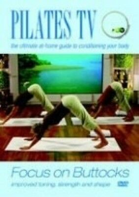 Pilates TV - Focus On Buttocks DVD. Pegagus. Free Shipping
