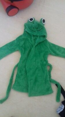 frog babys dressing gown