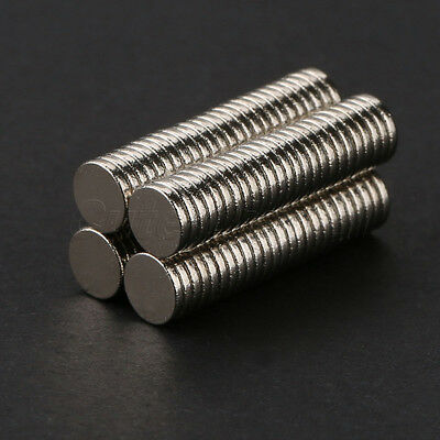 100PCS N35 Neodymium Magnet Super Strong Round Rare-Earth Disc Magnets