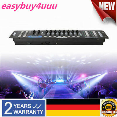 192CH DMX512 LED  Controller Stage Laser Light Lichtsteuerungen Disco Party