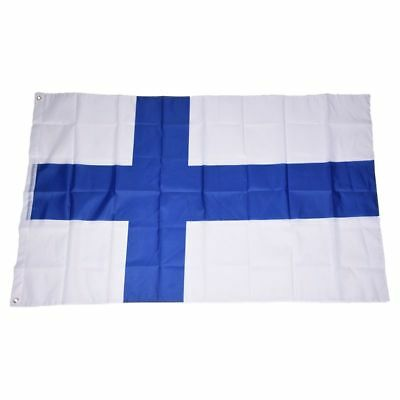 Country National Flag 5ft x 3ft - Finland M2W5