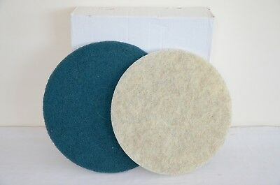 Amazing bulk deal 50 boxes (250 pads) 15 Inch Scrubbing & Burnishing floor pads