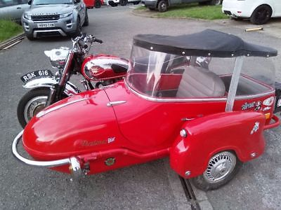 BSA A10 and sidecar