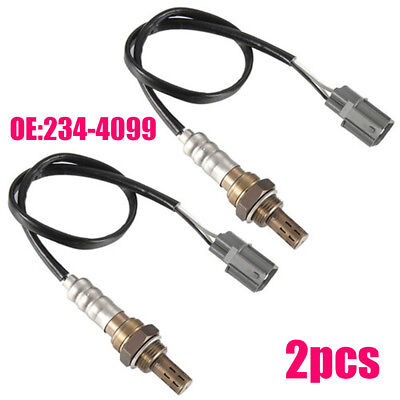 2pcs O2 Oxygen Sensor Upstream+Downstream For 1996-2000 Honda Civic 1.6L D16Y7