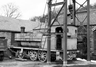 PHOTO NCB Industrial Steam Locomotive RS 2014/72 in 1958 at Beamish