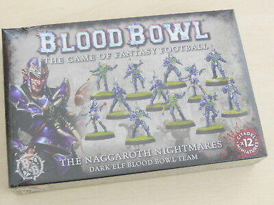 Blood Bowl The Naggaroth Nightmares Dark Elf Team 12 Figuren *Neu* Dunkelelfen