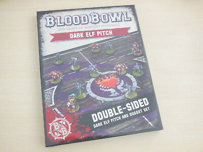 Blood Bowl Spielfeld Dunkelelfen *Neu* Naggaroth Nightmares Dark Elf Pitch
