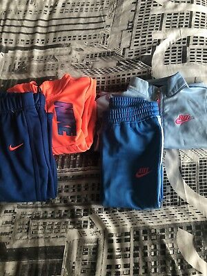 Girls Nike Tracksuit's 18 months x2
