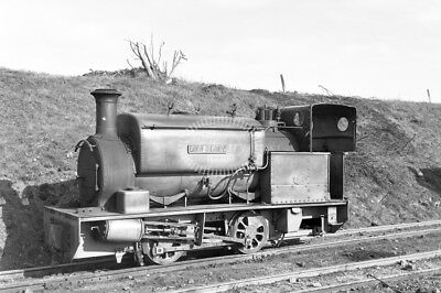 PHOTO Eastwell Iron Ore Co. Industrial Steam Locomotive HC 633/1902 in 1956 at E