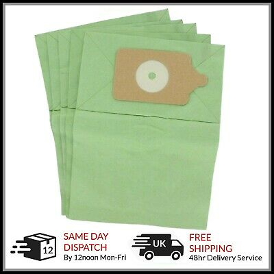 PAPER DUST BAGS Pack of 5 fit Numatic Henry Hetty Hoover Vacuum Cleaner