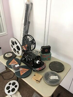 Pathescope Gem 9.5mm Projector And Accessories