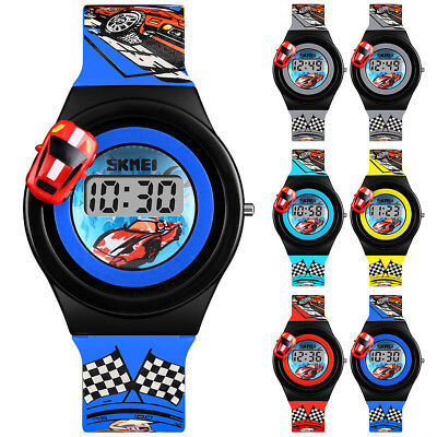 SKMEI Electronic Digital Kids/Child/Boy/Girl Waterproof LED Display Wrist Watch