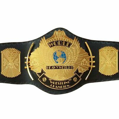 WWE WWF Replica Wing Eagle World Heavyweight Championship Title Belt Metal Plate