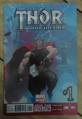Thor: God of Thunder Vol 1 1 (2013) Marvel Now King Thor VF+ Combined P&P 25p
