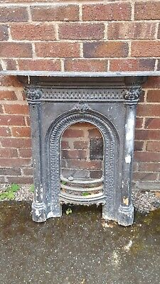Victorian Cast Iron Fireplace For Restoration