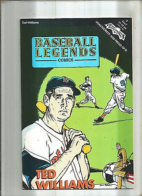 Baseball Legends #3  Ted Williams  Revolutionary 1992  Nice!!!