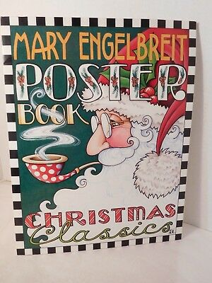 Mary Engelbreit Christmas Poster Book Complete 14 X 11 Set of 12