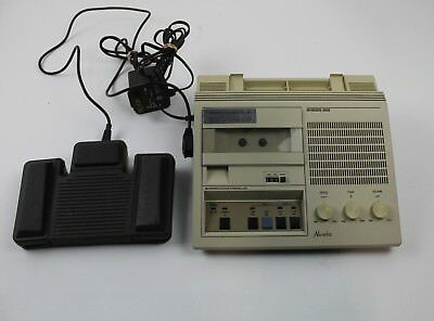 Norelco Philips System 500 (505) Minicassette Transcriber Machine w/ Pedals