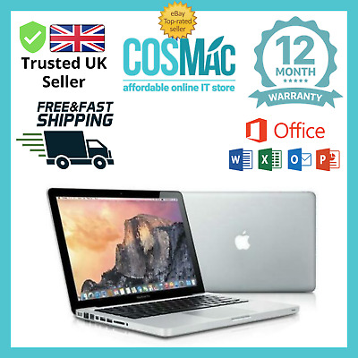 Apple MacBook Pro 13.3'' Core i7 2.7Ghz 8GB 500GB (Mid2011) A Grade 12M Warranty