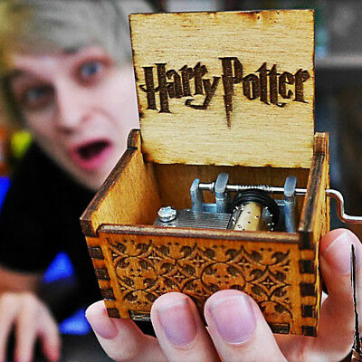 WR Harry Potter/Game of Thrones Multiple Styles Wooden Music Box Best Gifts