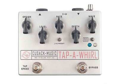 Cusack Music Tap-A-Whirl Tremolo DEMO