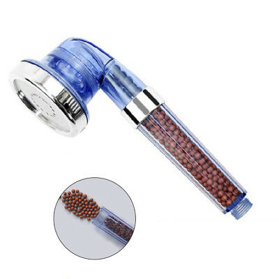 3Mode Anion SPA Water-saving Shower Head Filtration Cleaner Handheld Nozzle New