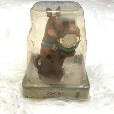 "Cartoon Network Scooby Doo Mini Pvc Clock Hamburger ""nip"" Warner Bros"