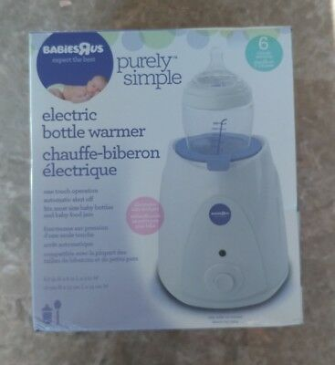 Purely Simple 6 Minute Electric Bottle Warmer Babies R Us