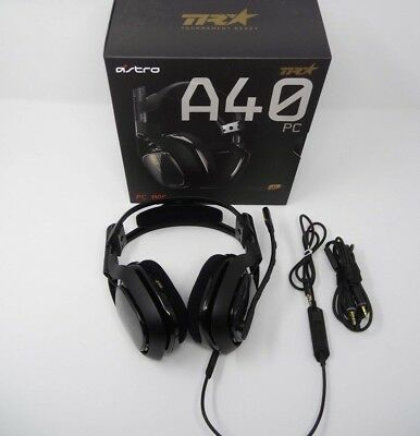 Astro A40 TR Black for PC, Mac, PS4, Xbox One, etc.