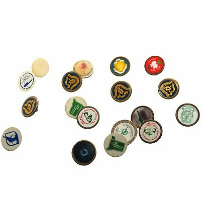 Vintage Golf Club Pins Lot of 15+ Liver Pool Lahinch Rare Collectables