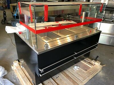 2016 Southern Case Arts FSE Service Fried Chicken Hot Foods Stainless Steel New