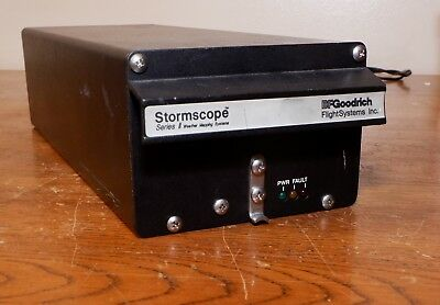 Stormscope Series II WX-1000+ Processor P/N 78-8051-9160-4 SW 3.26 No Reserve