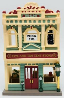 1992 Five And Ten Cent Store Hallmark Ornament Nostalgic Houses And Shops #9