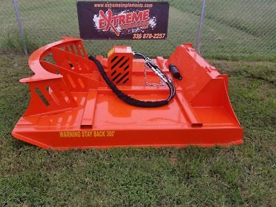 "72""  XBC-7 Extreme Skid Steer Brush Cutter-3 Blade Double Flywheel"