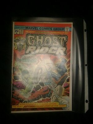 Marvel Comics Group Ghost Rider Battles the Incredible Hulk Issue 10 25 cents