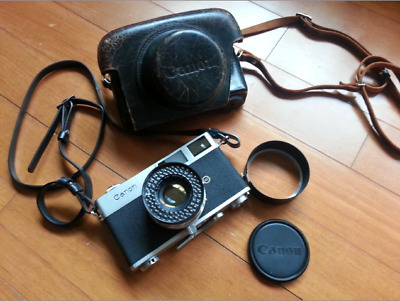 Canon Canonet the original series 45mm f1.9 Excellent condition 35mm camera
