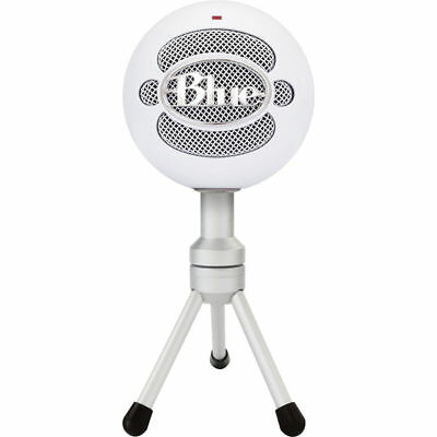 Blue Snowball Ice Microphone Plug and play usb Skype certified