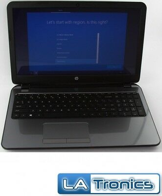 "HP 15-g019wm 15.6"" Laptop AMD E1-2100 1.0GHz 4GB RAM 500GB HDD Windows 10"