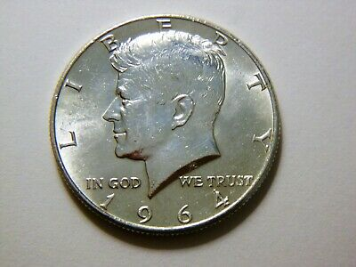1964-P BU Silver Kennedy Half Dollar,  Nice Coin for any collection