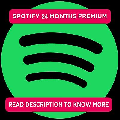 Spotify 24 Months Premium | FAST DELIVERY | WORKS WORLDWIDE | FULL WARRANTY