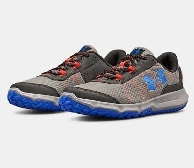 48ffdd8c MEN'S UNDER ARMOUR Toccoa Running Shoes Graphite/Black US Sizes NEW